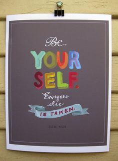 24 Inspiring Prints That'll Make You Smile. I like a few of these for my daughter's rooms.