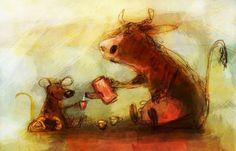 La imaginació i el bon fer dels artistes no té límit. Hem anat pujant al blog diferents i moltes il·lustracions d'animals i totes són d...