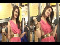 Ankita Shorey launches Karan Oberoi's FITT ZZONE GYM.