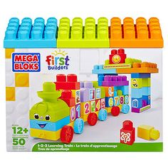 MEGA BLOKS First Builders 1-2-3 Learning Train 81209U | Target Australia