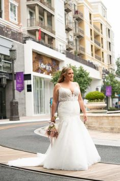 Lovella + Plus Size Wedding Dresses