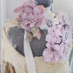 Bunches of Beauty. Handmade corsages available online and in-stores.  #shabbychic #rachelashwell #design #handmade