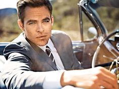 CHRIS PINE - #8 People Magazine Sexiest Man Alive 2013