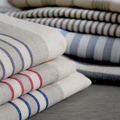 Just Stripes Towel, Stripes, Fabrics, Tejidos, Cloths, Fabric, Textiles