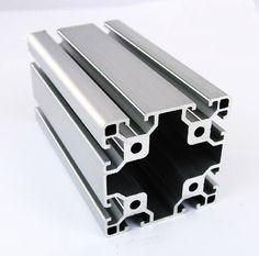 8080 EA Aluminum Profile Extrusion 80 Series, Aluminum Tube Length 1 Meter