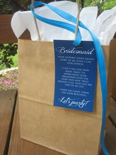 5 Bridesmaid Thank You Card for your by ThatPrettyInvitation, $5.00