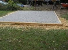 Image result for shed foundation Shed Base, Shed Construction, Lawn And Landscape, Building A Shed, Foundation, Outdoor Decor, Garden Sheds, Image, Baltimore