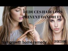 Hair loss home remedy hair growth remedy dandruff free hair SR designs