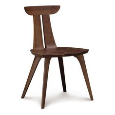 Estelle Sculpted Wooden Dining Chairs | High End | American Made |... ❤ liked on Polyvore featuring home, furniture, chairs, dining chairs, wood kitchen chairs, wooden side chairs, wooden kitchen chairs, timber furniture and wooden dining chairs