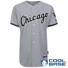 Chicago White Sox Authentic Road Cool Base Jersey - MLB.com Shop Let s Go  Dodgers 40f1e93ce