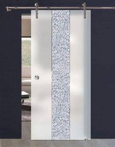 Skleněné dveře posuvné GG-167 - DVERE ZO SKLA