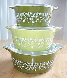 Corelle Crazy Daisy!!! My favorite pattern (if you ever see this stuff around, let me know!)