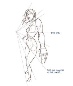 how to draw the human figure in motion