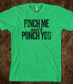 Pinch Me and I'll Punch You - Funny Random Designs - Skreened T-shirts, Organic Shirts, Hoodies, Kids Tees, Baby One-Pieces and Tote Bags