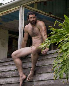 "beardburnme: """"The old Queenslander homestead. Shane, from a recent shoot for a new book. #malenudeart #portraiture #paulfreeman"" by @paulfreemanphotographer on Instagram http://ift.tt/215Fr7l "" Love..."