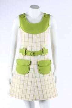 Mini-dress, Andre Courreges, 1968.