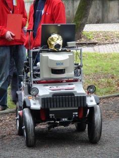 Robotour 2012 / Prag Arno, Golf Carts, Robot, Vehicles, Car, Robots, Vehicle, Tools