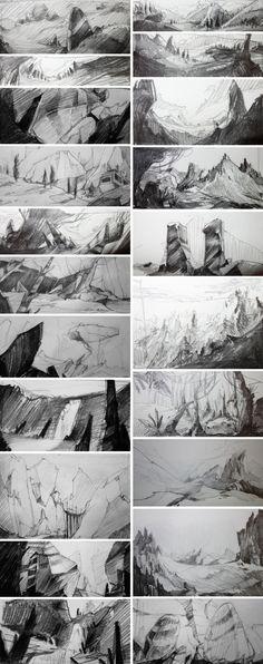 Landscape - Vivien Bertin