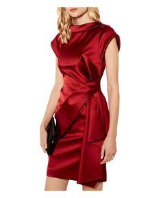Discover brand-new clothing, shoes and accessories at Karen Millen. Night Gown Dress, Evening Dresses, Stunning Dresses, Elegant Dresses, Satin Mini Dress, Luxury Dress, Karen Millen, Classy Outfits, Short Dresses