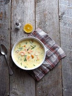 One pot wonder - lettvint gryterett - Mat På Bordet Soup Recipes, Healthy Recipes, Fish Soup, Scandinavian Food, Good Food, Yummy Food, Sugar And Spice, Soups And Stews, Cheeseburger Chowder