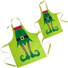 Awesome! I should make Aiden a Christmas apron