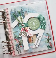 December Daily, Happy December, Hello December, Christmas Scrapbook Pages, Christmas Journal, Mini Scrapbook Albums, Scrapbook Cards, Bullet Journal Ideas, Happy Merry Christmas
