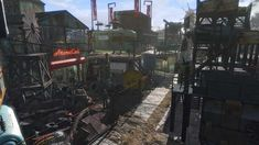 Post with 81018 views. [Photo gallery] Sanctuary Capital City hours spent building) Any critique is more than welcome! Fallout Mods, Fallout 4 Settlement Ideas, Combat Knives, Fall Out 4, Watch V, Capital City, Fantasy Art, Appreciation, Photo Galleries