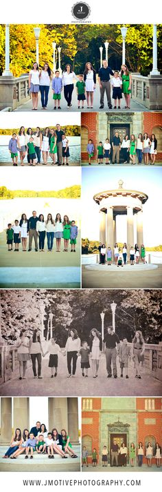 Photo shoot poses and ideas for large families :)