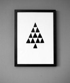 Dit minimalistische schilderij is heel makkelijk zelf te maken. Een half uurtje tijd en je hebt een uniek schilderij in je huis.