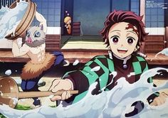 Kimetsu no Yaiba (Demon Slayer) Image - Zerochan Anime Image Board Anime City, Me Anime, Cute Anime Guys, Anime Demon, Manga Anime, Demon Slayer, Slayer Anime, Funny Yugioh Cards, Hiro Big Hero 6