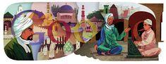 Ibn Battuta's 708th Birthday http://www.google.com/doodles/ibn-battutas-708th-birthday