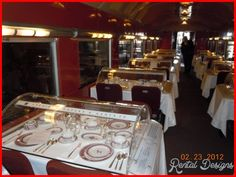 DINING BY RAIL RECIPES - http://rentaldesigns.com/dining-rail-recipes.html
