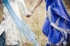 Indian Engagement Photos by Geraldine Nelson Photography