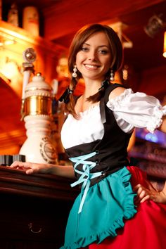 Dirndl  German Bavarian Bustier by ClassicGermanClothes, $99.00