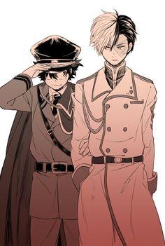 Boku no Hero Academia    Midoriya Izuku, Todoroki Shouto.