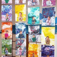이미지: 사람 4명 Photo Projects, Projects To Try, Shapes For Toddlers, Diy And Crafts, Crafts For Kids, Photo Action, Photo Craft, Spring Crafts, Toddler Activities