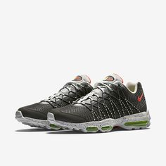 e0fa71a5598 NEW Nike Air Max 95 Ultra Jcrd Night Silver Grey Crimson SZ 11 Clothing