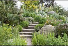 Portaat rinteeseen? Small Garden ideas