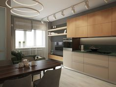 Современный дизайн кухни - ALNO. Современные кухни: дизайн и эргономика | PINWIN - конкурсы для архитекторов, дизайнеров, декораторов