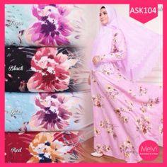 Fashion Gamis Wanita Syari Flowery Laser Terlaris