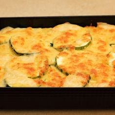 This zucchini and potatoes casserole will be a great way to use some of those fresh summer vegetables.