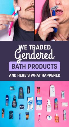We Traded Gendered Products And Now We're Shook