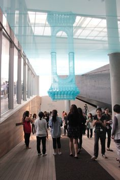 """Korean artist Do Ho Suh """"Home within Home"""" Leeum Samsung Museum of Art Do Ho Suh, Korean Artist, Study Abroad, Marina Bay Sands, South Korea, Art Museum, Seoul, Art Gallery, Architecture"""