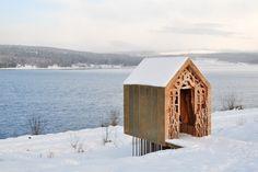 Freya and Robin: Charming Love Story-Inspired Prefab Wood Cabins