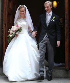 """Washington DC ha sido el lugar escogido por el archiduque Imre de Austria para dar el """"sí quiero"""" a su novia, la periodistaKathleen Walker #royals #royalty #weddings #brides"""