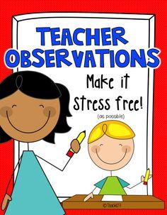 Teacher Evaluation and Observation Tips: Bright Ideas Blog Hop #Teach123
