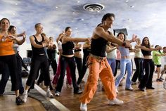 There's a party going on right here!  Zumba is the nation's hottest fitness craze, and the Resort at Glade Springs features various 30 and 60-minute classes Mondays through Thursdays. (image via Bing images)