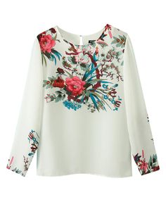 Print Long Sleeve Tops