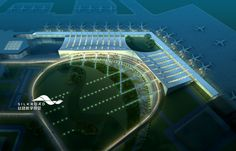 Our rendering for India Airport