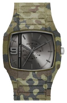 I'm guessing there are a lot of guys out there who would love this camo watch…